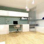 Architecte d'intérieur - coin bureau