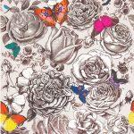 Papier peint BUTTERFLY GARDEN | Osborne and Little