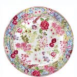 Assiette Fleurie | Gien