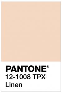 Pantone linen