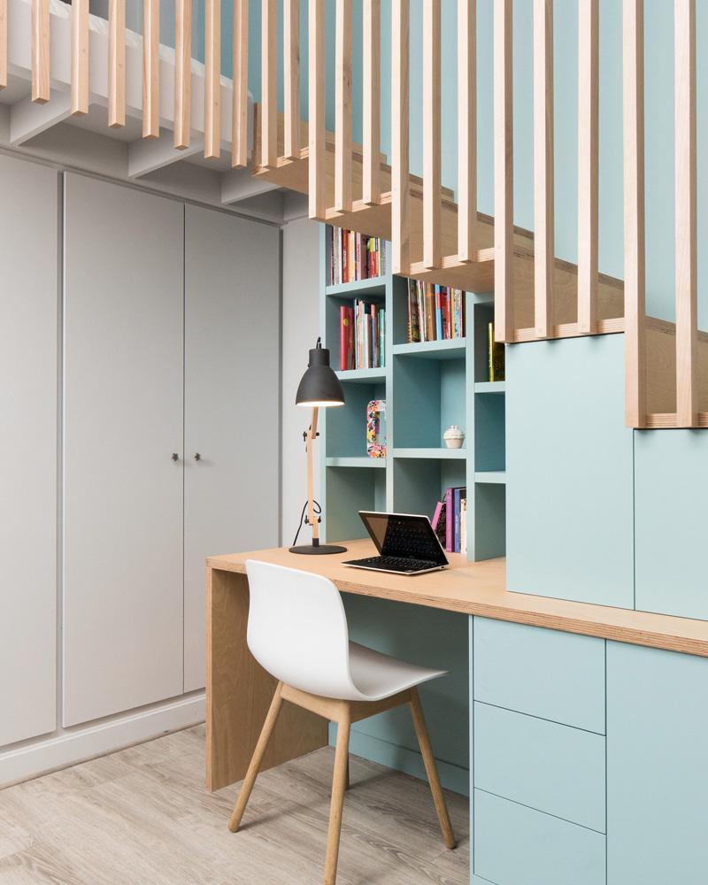 Creer Un Meuble Sous Escalier conseil déco : comment optimiser son sous escalier